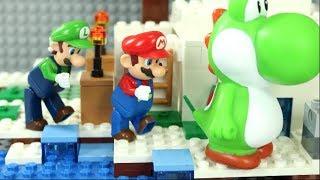 マリオおもちゃ物語「ヨッシーを捕まえろ!」〜レゴ逃走劇〜