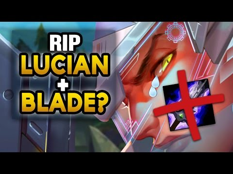 RIP LUCIAN+BLADE? MASSIVE Blade of the Ruined King NERFS - League News (League of Legends)