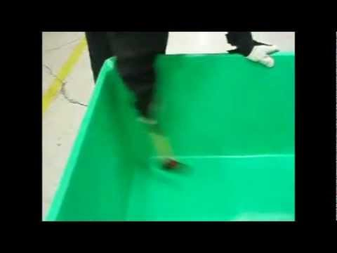 Forklift & Hammer Durability Tests On MPC Insulated Containers From DACO