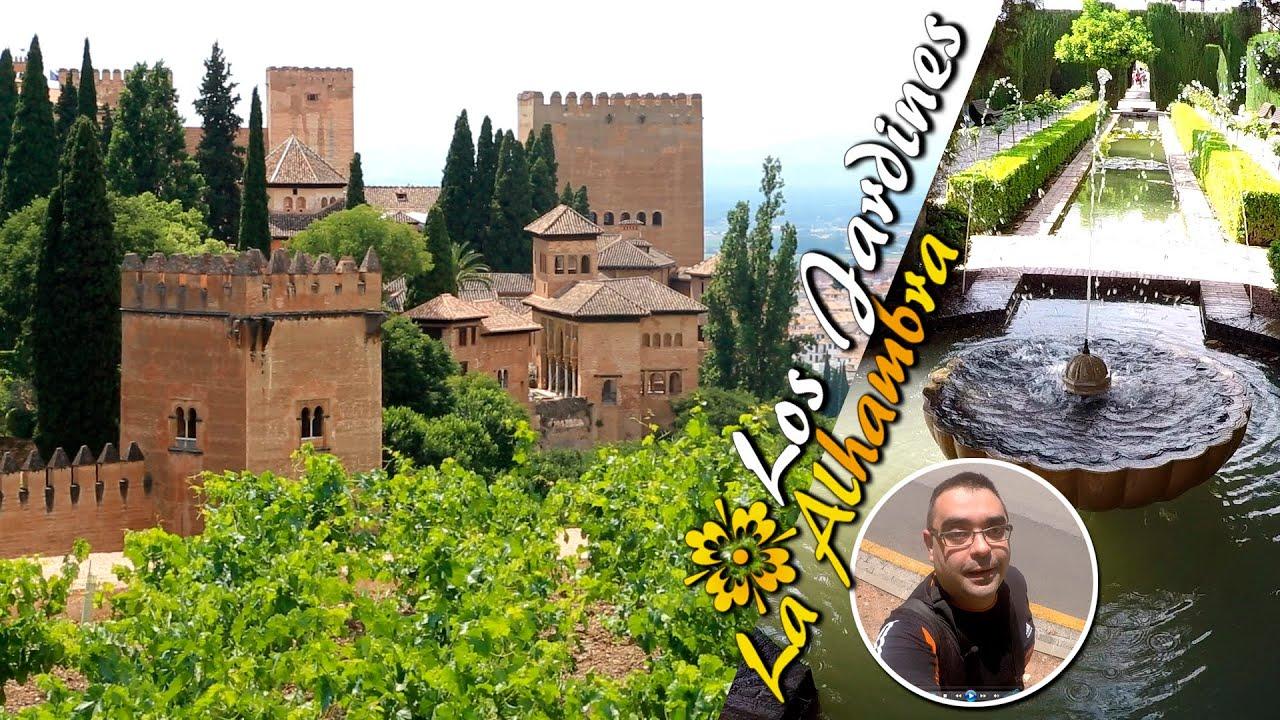 Espectaculares jardines de la alhambra de granada youtube for Jardin de la reina granada