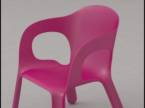 Advanced lawn chair tutorial for T-Splines for Rhino 3d