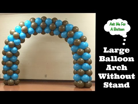 how to make a balloon arch with helium doovi