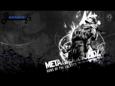 Metal Gear Solid 4 -  Metal Gear Saga - OST - JGamersFR
