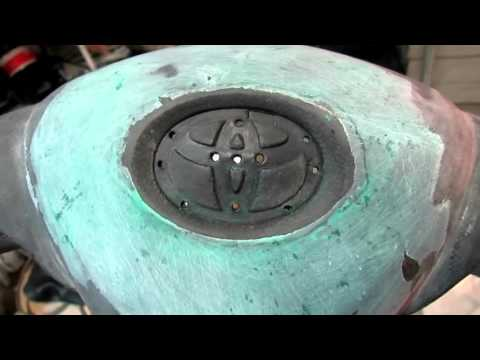 Toyota Corolla ремонт подушки безопасности водителя 2