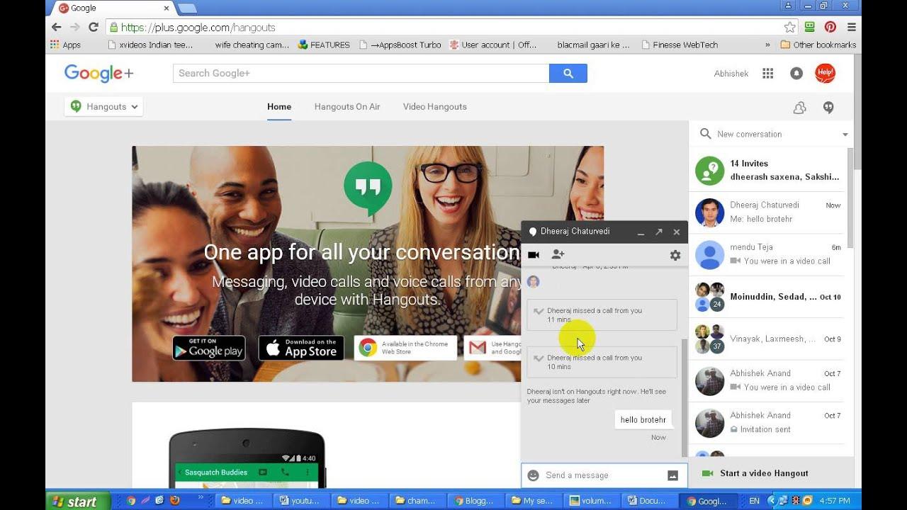 Google plus video hangout kya hota hai aur kaise kiya jaata hai?-tutorial