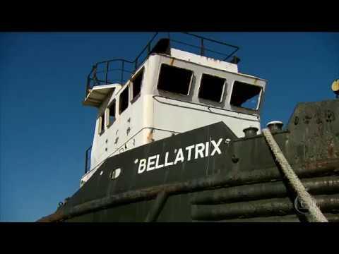 Bom Dia Brasil - Tv Globo - Rebocadores abandonados no Porto do Recife serão afundados
