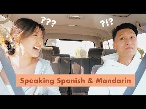 Speaking Mandarin vs Spanish // Can we communicate??