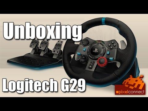 ps4 unboxing logitech g29 lenkrad ps4 check youtube. Black Bedroom Furniture Sets. Home Design Ideas