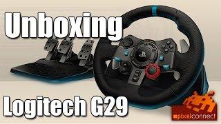 PS4 Unboxing Logitech G29 Lenkrad + PS4-Check