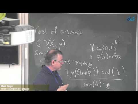 Mark Sapir (Vanderbilt University) -Tarski numbers of groups
