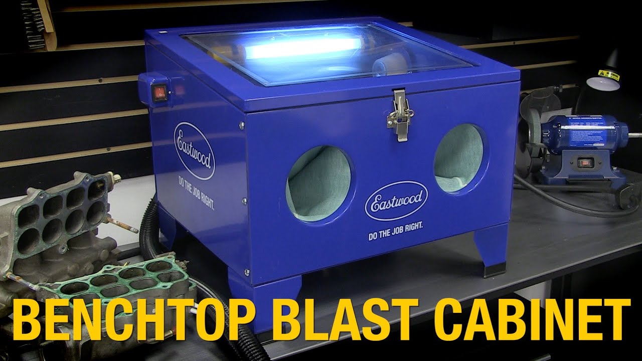 Home Media Blasting Solution - Remove Rust with Benchtop Blast Cabinet from Eastwood - YouTube  sc 1 st  YouTube & Home Media Blasting Solution - Remove Rust with Benchtop Blast ...
