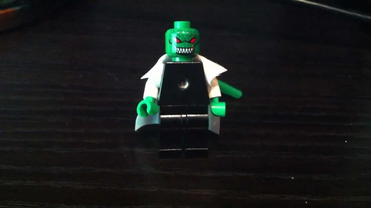 Lego Spider - man The lizard review - YouTube