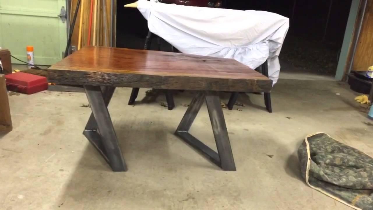 Table/leg design - YouTube