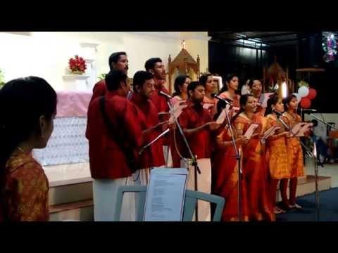 Viany' s prize winning carol song @ Carmalaram parish church........Bangalore on 20-12-2014