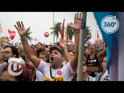 A Copacabana Protest To Oust President Temer | The Daily 360 | The New York Times