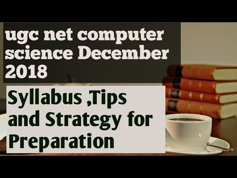 Ugc Net Computer Science December 2018 Syllabus