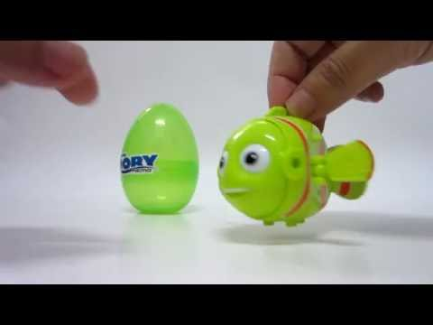 Finding Nemo Surprise Eggs - Green Nemo 出奇蛋 - 海底總動員