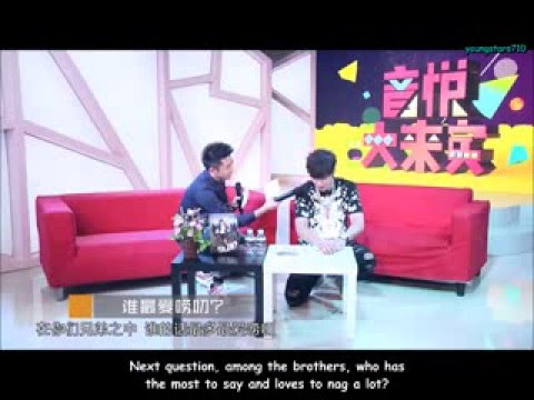 [ENGSUB] 151231 Go Fighting Related Cut - XiaoZhu YYDLB Interview (ZYX/SHL/HL/WX/HB)