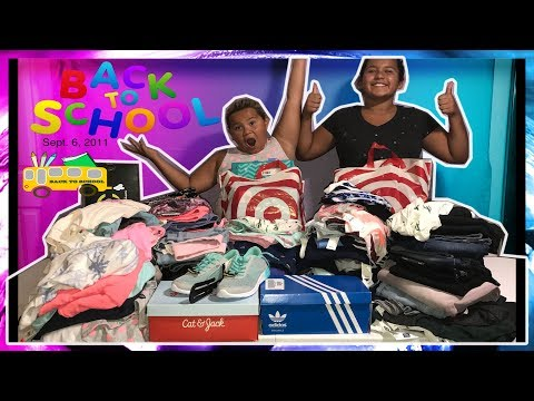 HUGE BACK TO SCHOOL SUPPLIES AND CLOTHES HAUL