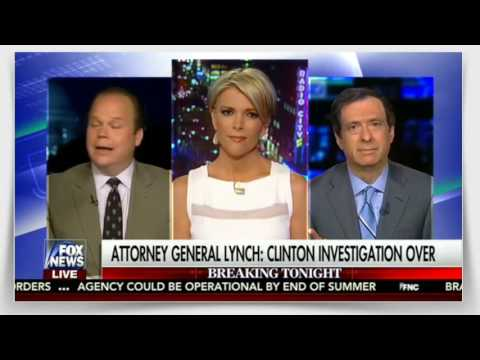 The Kelly File 7_6_16 - NO CHARGES for Hillary! Megyn Kelly Shocked!  Full Interview.MP4