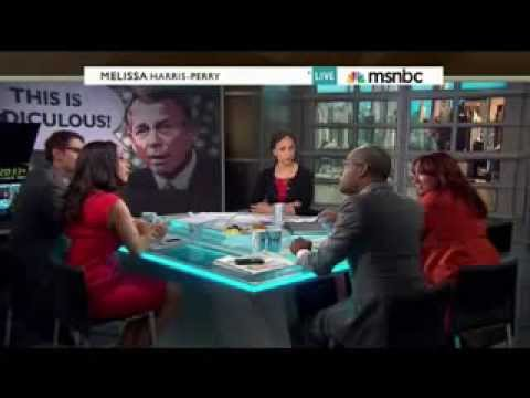 Melissa Harris-Perry Guest Erupts: 'Racial! I Will Not Sit Here and Allow You to Say That!'