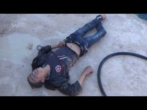 Graphic scenes of chemical attack in Syria [viewer discretion]