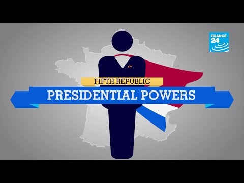 France: What are the presidential powers in the 5th Republic? - #POSTERS