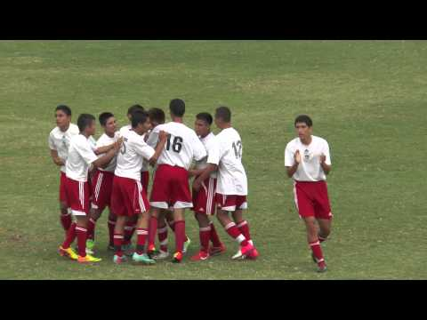 LONESTARS 97B RED SAN vs ATLETICO SANTA ROSA SANTOS BU17 Gold QF - 2013 Surf Cup