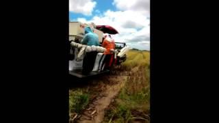 Video Mesin Pemanen Padi Yanmar Lampung