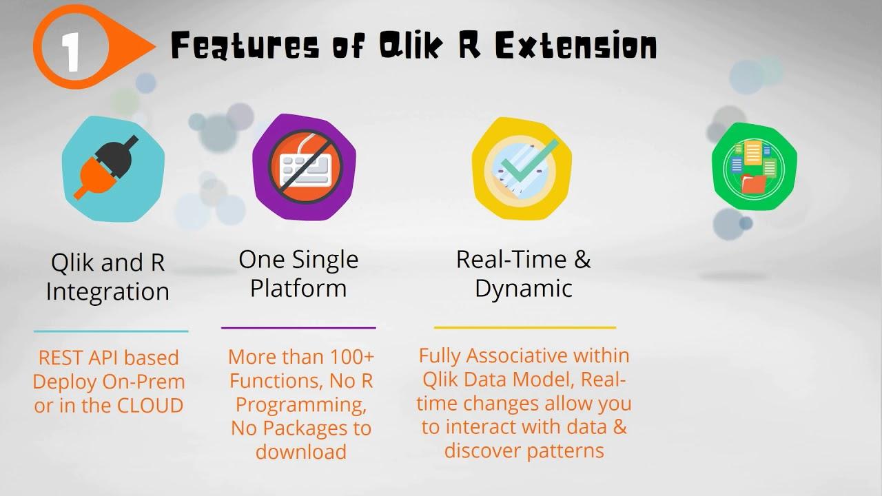 QlikView and Qlik Sense R Connector