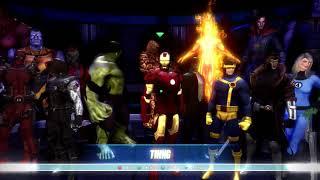 Marvel Ultimate Alliance SUPER MODDED roster