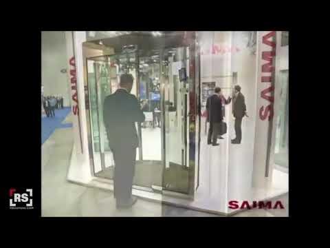 SAIMA Esclusas con detector de metal y anti piggybacking | RSeguridad