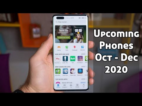 Upcoming Super Phones from October to December 2020