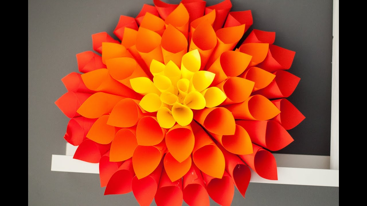 How to make paper cones for flowers image collections flower how to make paper cones for flowers images flower decoration ideas paper cone flower image collections mightylinksfo