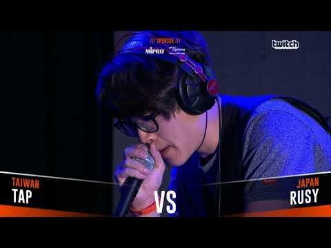 TAP VS RUSY Asia Beatbox Championship 2018 Semi Final Loopstation Battle