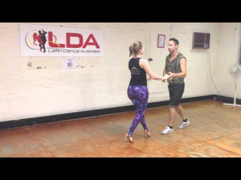 Salsa 4 - Wrap and spin