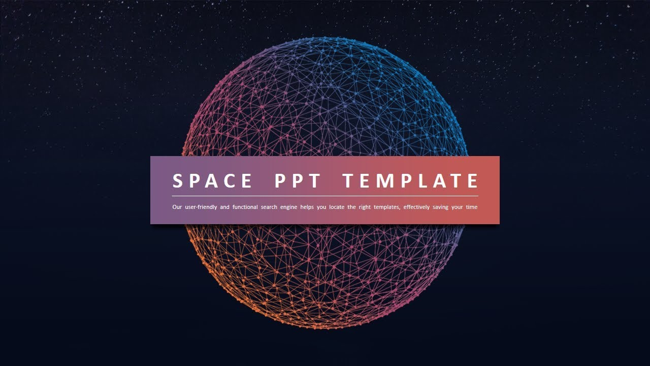 Space Ppt Template Template Powerpoint Free Download