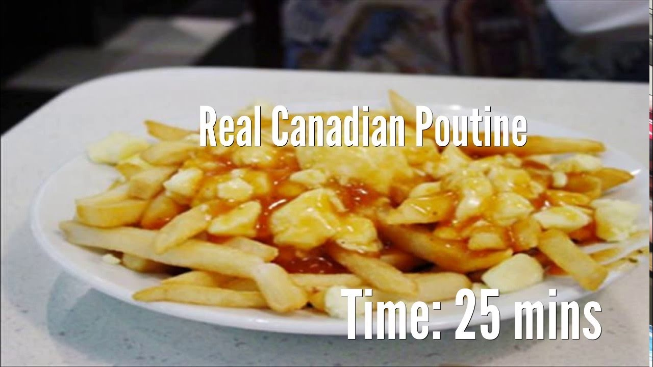 Real canadian poutine recipe youtube forumfinder Images