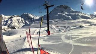 Reportaje de la estación de Esquí de Tignes (Alpes Franceses)