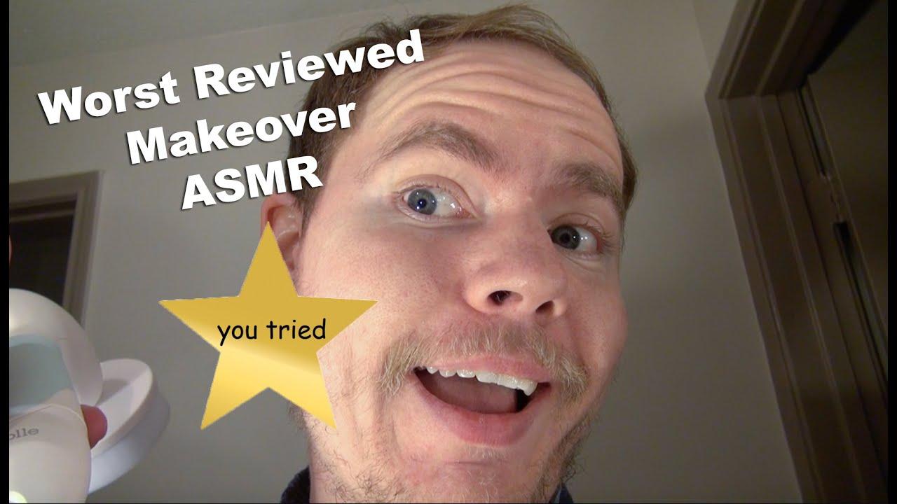 Aggressive ASMR Roleplay: Worst Reviewed Makeover Artist