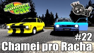 My Summer Car - Fuga da policia, 2º Racha com o carro amarelo #22 (G27 mod)