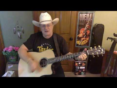 2136  - It's Five O'Clock Somewhere -  Alan Jackson vocal & acoustic guitar cover & chords