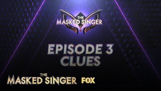 Week Three Clues | Season 1 Ep. 3 | THE MASKED SINGER