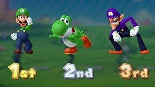 Mario Party 10 - Coin Challenge (Luigi Gameplay)