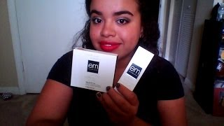 EM Michelle Phan love me for me powder and foundation REVIEW!!!! Thumbnail