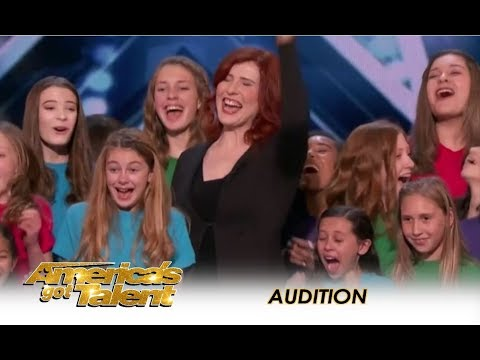 Voices Of Hope Children's Choir AMAZING Audition! | America's Got Talent 2018
