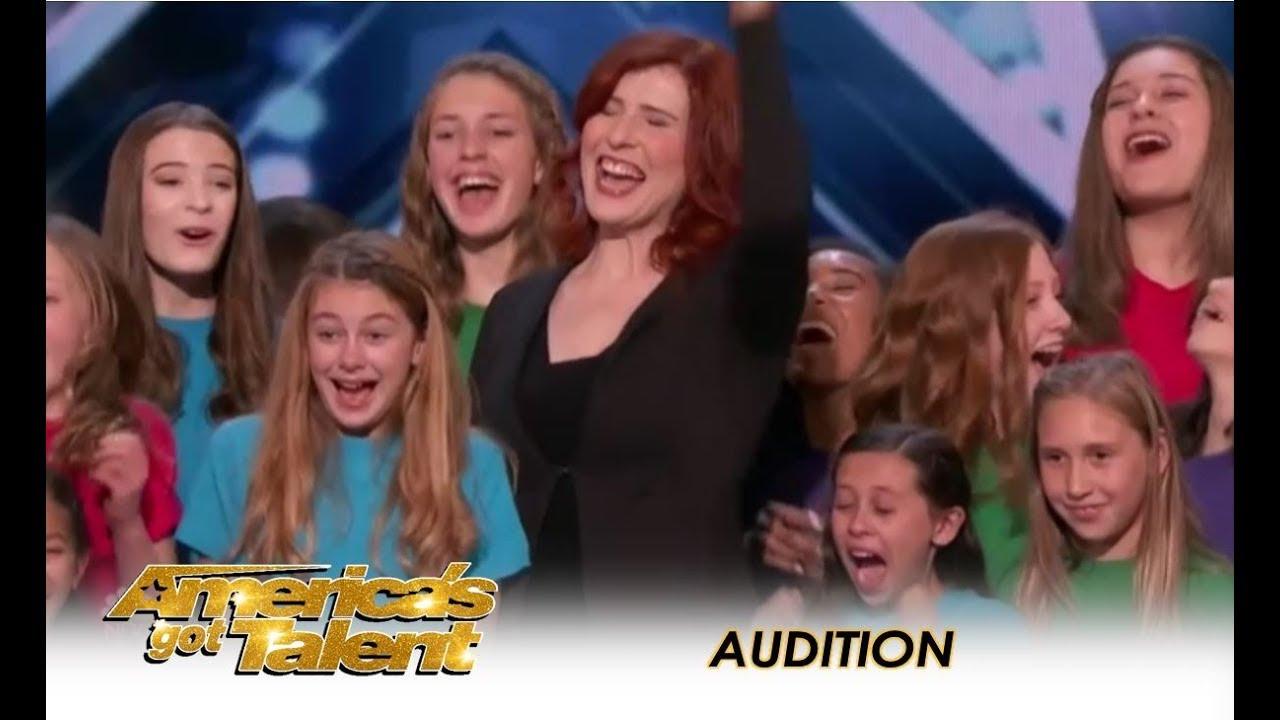 Voices Of Hope Children's Choir AMAZING Audition! | America's Got Talent 2018