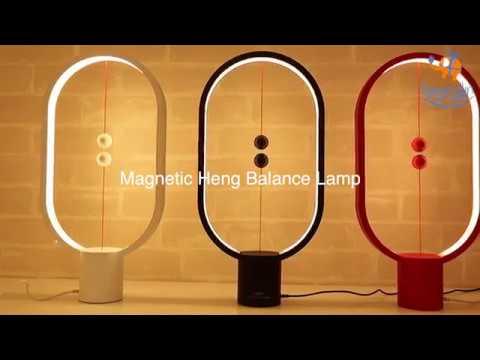Magnetic Heng Balance Lamp | Innovative LED Heng Lamp | Bigsmall.in