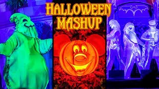 Disney Halloween Mashup! - Disney World & Disneyland