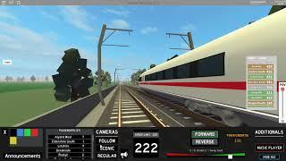 met de ICE 3 | terminal railways | stefandasjegaming roblox